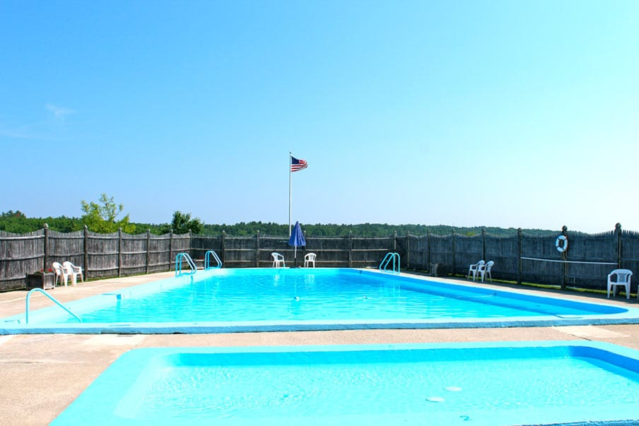 Maine Campground with Saltwater Pool